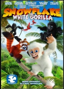Snowflake with white gorilla (2011)